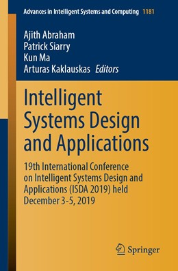 Abbildung von Abraham / Siarry / Ma / Kaklauskas | Intelligent Systems Design and Applications | 1st ed. 2021 | 2020 | 19th International Conference ... | 1181