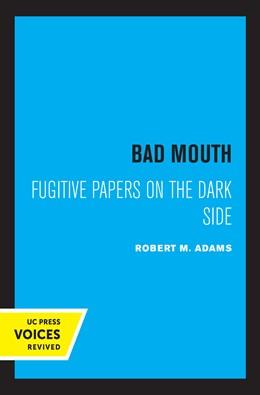 Abbildung von Adams | Bad Mouth | 1. Auflage | 2021 | beck-shop.de