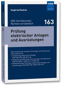 Abbildung von Rudnik | Prüfung elektrischer Anlagen und Ausrüstungen | 1. Auflage | 2020 | 163 | beck-shop.de