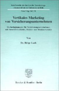Abbildung von Lach | Vertikales Marketing von Versicherungsunternehmen. | 1996