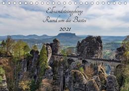 Abbildung von Wege twfoto | Elbsandsteingebirge - Rund um die Bastei (Tischkalender 2021 DIN A5 quer) | 3. Auflage | 2020 | beck-shop.de