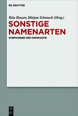 Abbildung von Heuser / Schmuck | Sonstige Namenarten | 1. Auflage | 2020 | beck-shop.de