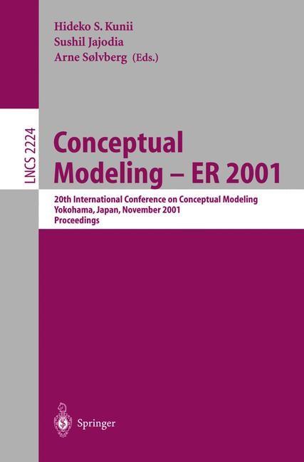 Abbildung von Kunii / Jajodia / Soelvberg | Conceptual Modeling - ER 2001 | 2001