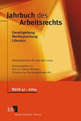 Abbildung von Wißmann | Jahrbuch des Arbeitsrechts | 2004