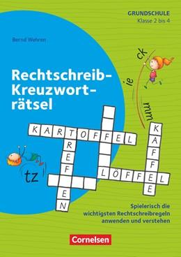 Abbildung von Wehren | Klasse 2-4 - Rechtschreib-Kreuzworträtsel | 1. Auflage | 2020 | beck-shop.de