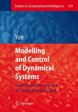 Abbildung von Yoe | Modelling and Control of Dynamical Systems: Numerical Implementation in a Behavioral Framework | 2008