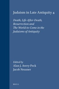 Abbildung von Avery-Peck / Neusner | Judaism in Late Antiquity 4. Death, Life-After-Death, Resurrection and The World-to-Come in the Judaisms of Antiquity | 1999