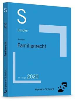 Abbildung von Roßmann   Skript Familienrecht   22. Auflage   2020   beck-shop.de