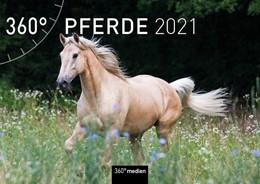 Abbildung von 360° Pferde Klappkalender 2021 | 2020 | Wandkalender mit Kalendarium z...