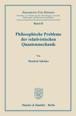 Abbildung von Stöckler   Philosophische Probleme der relativistischen Quantenmechanik.   1984   65