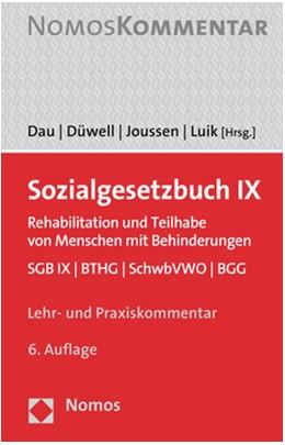 Abbildung von Dau / Düwell | Sozialgesetzbuch IX | 6. Auflage | 2021 | beck-shop.de