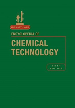 Abbildung von Kirk-Othmer Encyclopedia of Chemical Technology | 5. Auflage | 2004