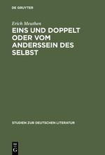 Abbildung von Meuthen | Eins und doppelt oder Vom Anderssein des Selbst | Reprint 2013 | 2001