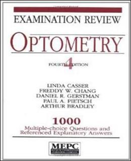 Abbildung von Casser / Chang / Gertsman | MEPC: Optometry: Examination Review | 1994