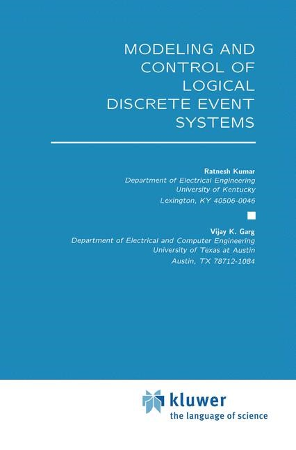 Abbildung von Kumar / Garg | Modeling and Control of Logical Discrete Event Systems | 1994