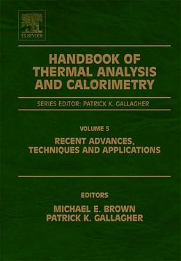 Abbildung von Handbook of Thermal Analysis and Calorimetry | 2007