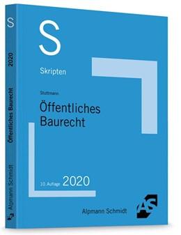 Abbildung von Stuttmann   Skript Öffentliches Baurecht   10. Auflage   2020