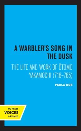 Abbildung von Doe   A Warbler's Song in the Dusk   1. Auflage   2021   beck-shop.de