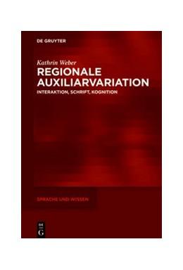 Abbildung von Weber | Regionale Auxiliarvariation | 1. Auflage | 2020 | beck-shop.de
