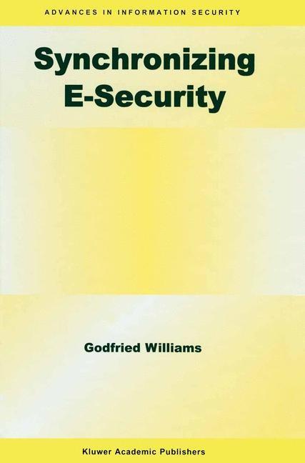 Abbildung von Williams   Synchronizing E-Security   2004   2003