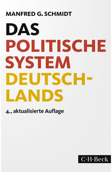 Cover: Manfred G. Schmidt, Das politische System Deutschlands