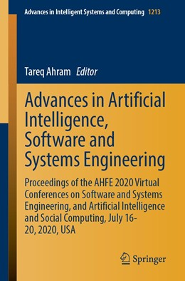 Abbildung von Ahram | Advances in Artificial Intelligence, Software and Systems Engineering | 1st ed. 2021 | 2020 | Proceedings of the AHFE 2020 V... | 1213