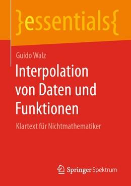 Abbildung von Walz | Interpolation von Daten und Funktionen | 1. Auflage | 2020 | beck-shop.de