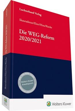Abbildung von Elzer / Hinz | Die WEG-Reform 2020/2021 | 1. Auflage | 2021 | beck-shop.de