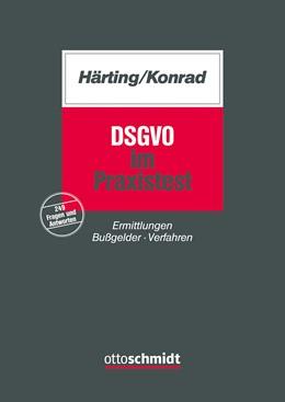 Abbildung von Härting / Konrad | DSGVO im Praxistest | 2020 | Ermittlungen Bußgelder Verfahr...