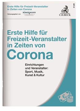 Abbildung von Erste Hilfe für Freizeit-Veranstalter in Zeiten von Corona | 2020 | Einrichtungen und Veranstalter...