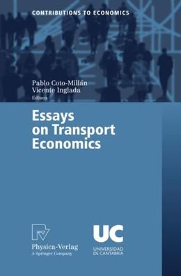 Abbildung von Coto-Millán / Inglada   Essays on Transport Economics   2006