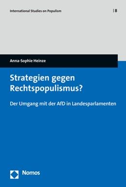 Abbildung von Heinze | Strategien gegen Rechtspopulismus? | 1. Auflage | 2020 | 8 | beck-shop.de