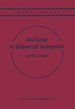 Abbildung von Varzi | An Essay in Universal Semantics | 1999 | 1