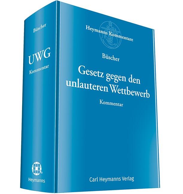 Abbildung von Büscher (Hrsg.)   Gesetz gegen den unlauteren Wettbewerb: UWG   2019