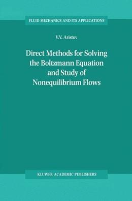 Abbildung von Aristov | Direct Methods for Solving the Boltzmann Equation and Study of Nonequilibrium Flows | 2001 | 60