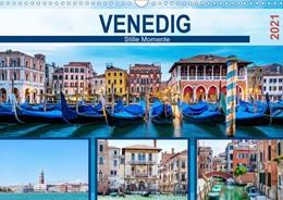 Abbildung von Hetizia   Venedig - Stille Momente (Wandkalender 2021 DIN A3 quer)   3. Auflage   2020   beck-shop.de