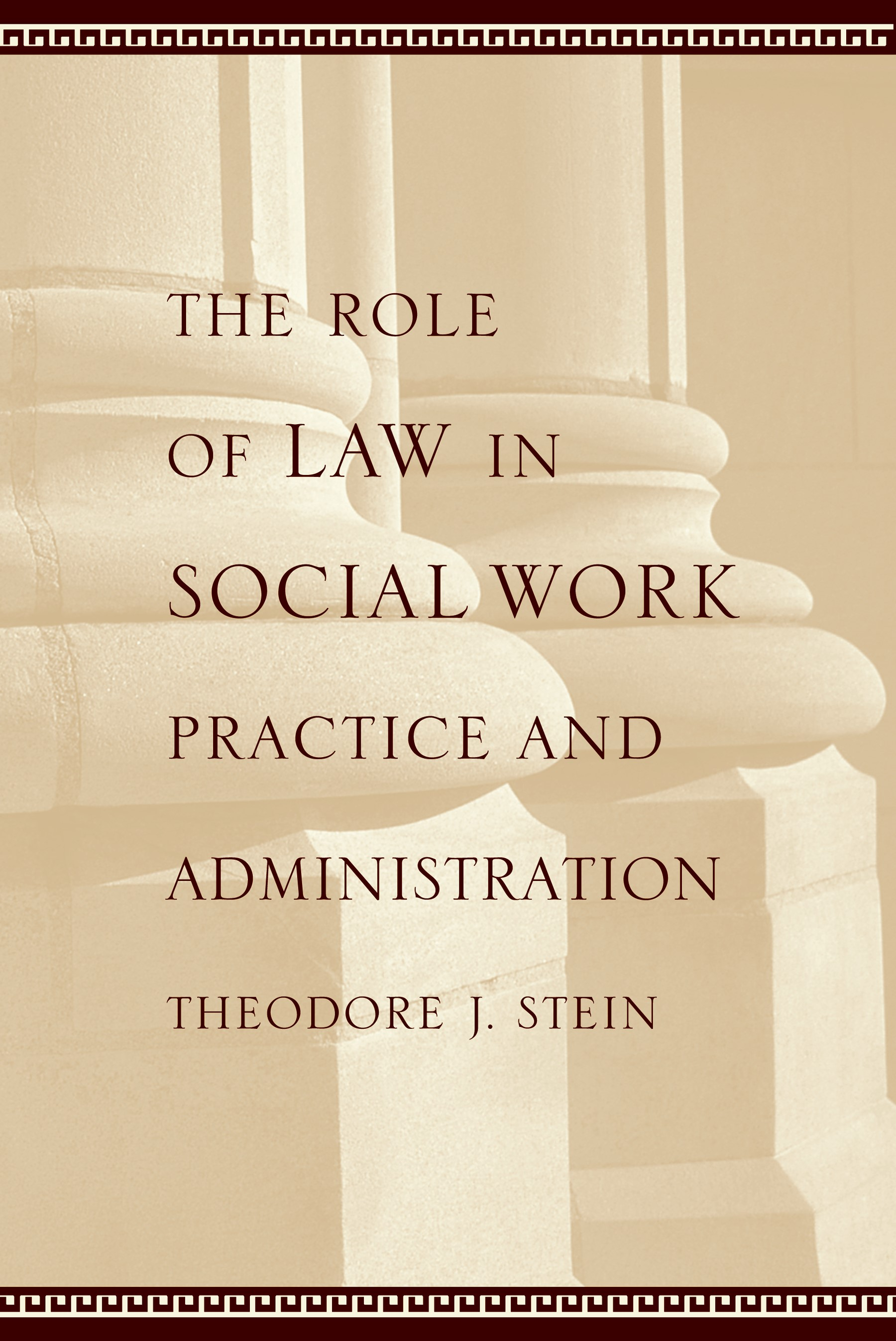 Abbildung von Stein | The Role of Law in Social Work Practice and Administration | 2004