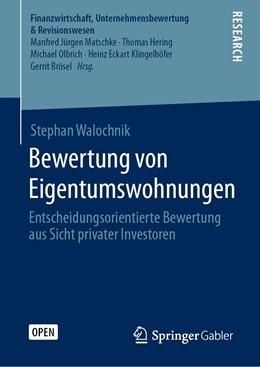 Abbildung von Walochnik   Bewertung von Eigentumswohnungen   1. Auflage   2020   beck-shop.de
