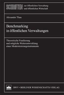 Abbildung von Thau | Benchmarking in öffentlichen Verwaltungen | 2009