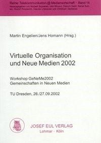 Virtuelle Organisation und Neue Medien 2002 | / Engelien / Homann, 2002 | Buch (Cover)