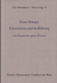 Abbildung von Manger | Klassizismus und Aufklärung | 1991