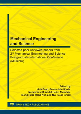 Abbildung von Saad / Shuib   Mechanical Engineering and Science   1. Auflage   2020   beck-shop.de