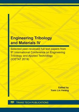 Abbildung von Hwang   Engineering Tribology and Materials IV   1. Auflage   2020   beck-shop.de