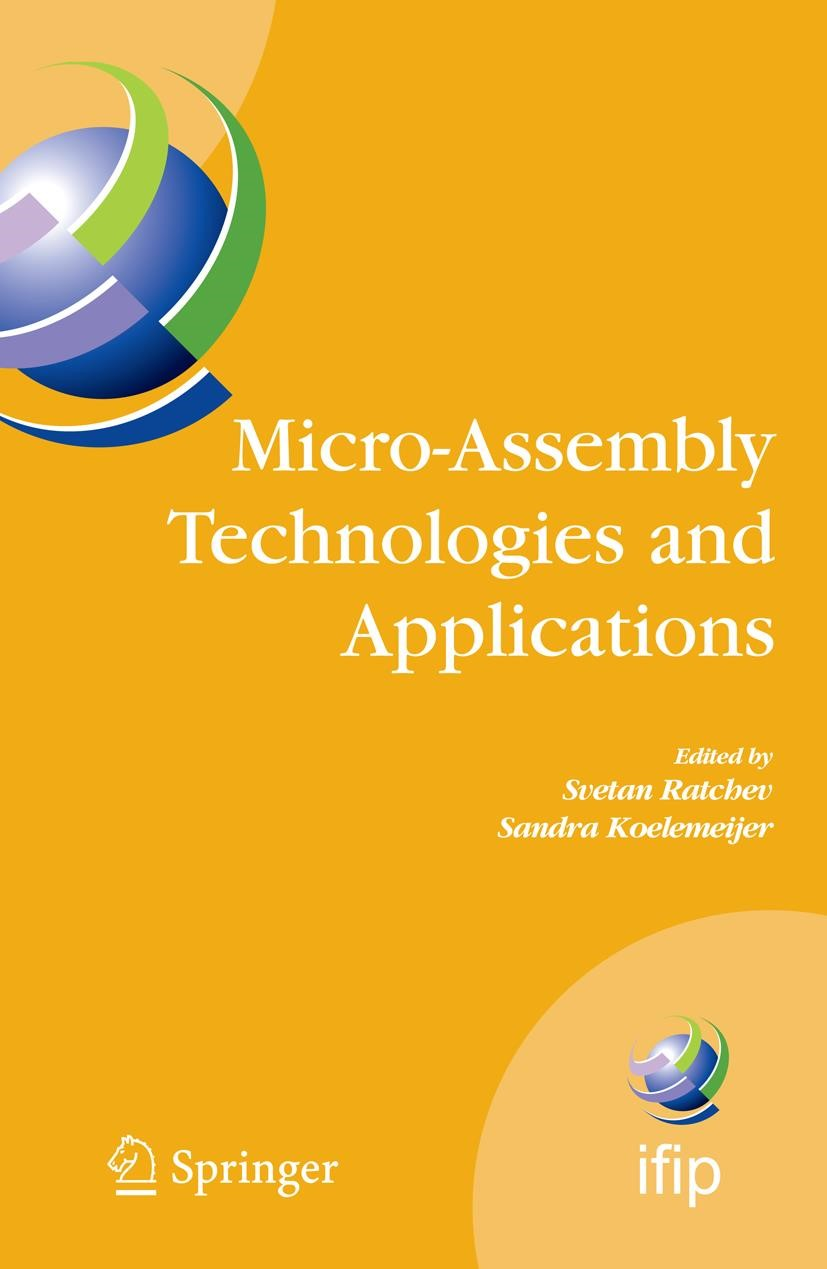 Abbildung von Ratchev | Micro-Assembly Technologies and Applications | 2008