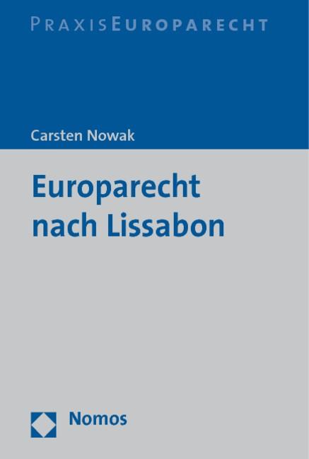 Abbildung von Nowak | Europarecht nach Lissabon | 2011