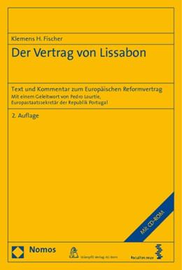 Abbildung von Fischer | Der Vertrag von Lissabon | 2., erweiterte Auflage | 2010 | Text und Kommentar zum Europäi...