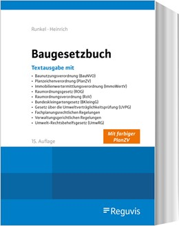 Abbildung von Runkel / Heinrich | Baugesetzbuch | 15. Auflage | 2020 | beck-shop.de