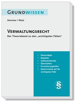 Abbildung von Hemmer / Wüst | Grundwissen Verwaltungsrecht | 8. Auflage | 2020 | beck-shop.de