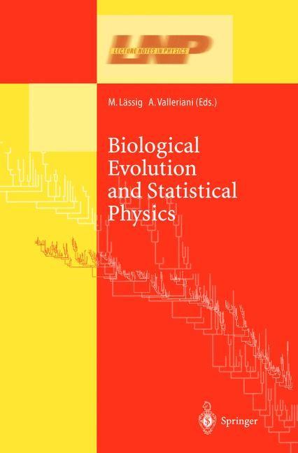 Abbildung von Lässig / Valleriani | Biological Evolution and Statistical Physics | 2002