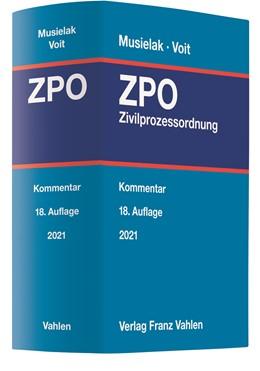 Abbildung von Musielak / Voit | Zivilprozessordnung: ZPO | 18. Auflage | 2021 | beck-shop.de